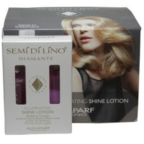 Alfaparf Semi Di Lino Diamante Illuminating Shine Lotion Leave-In Treatment 2 x 0.43oz