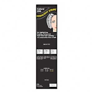 """Colora 250 Balayage Highlight Strips, Extra Long 4 x 16"""", 250 Strips"""