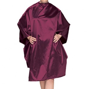 Olivia Garden Chemical Cape - Charm - Burgundy - CR-C2