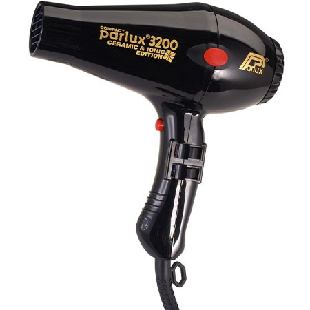 Parlux 3200 Compact Ceramic Ionic Hair Dryer 160bk Free
